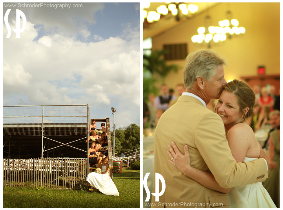 Sussex County Fairgounds Wedding photographs