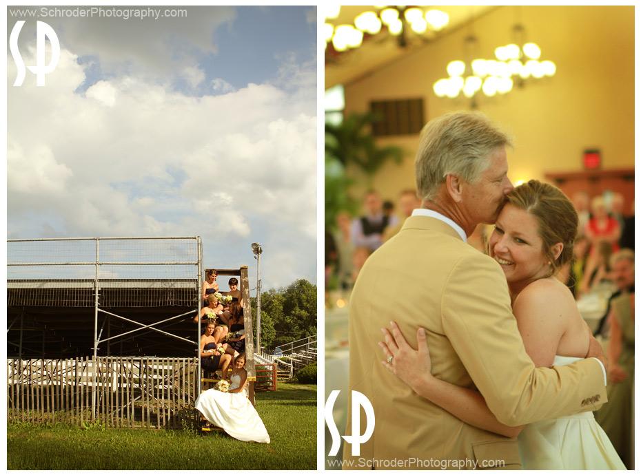Sussex County Fairgounds Wedding photographs