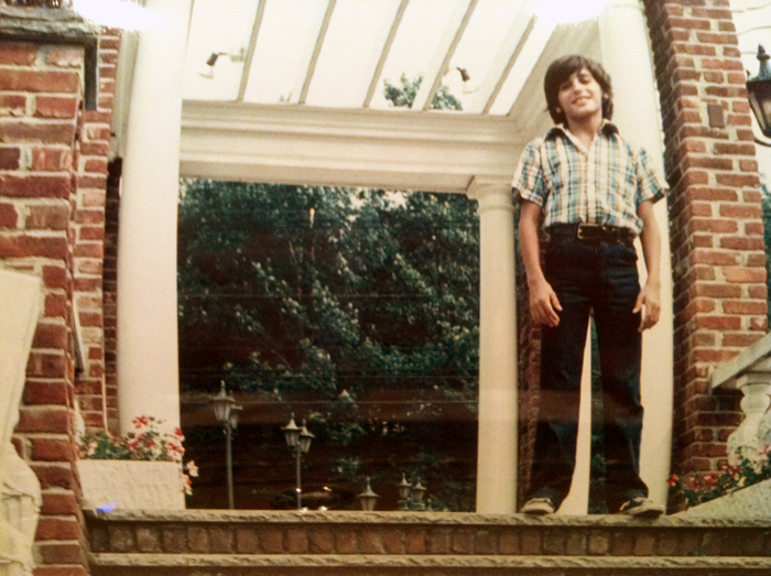 That me at the Manor as a kid!