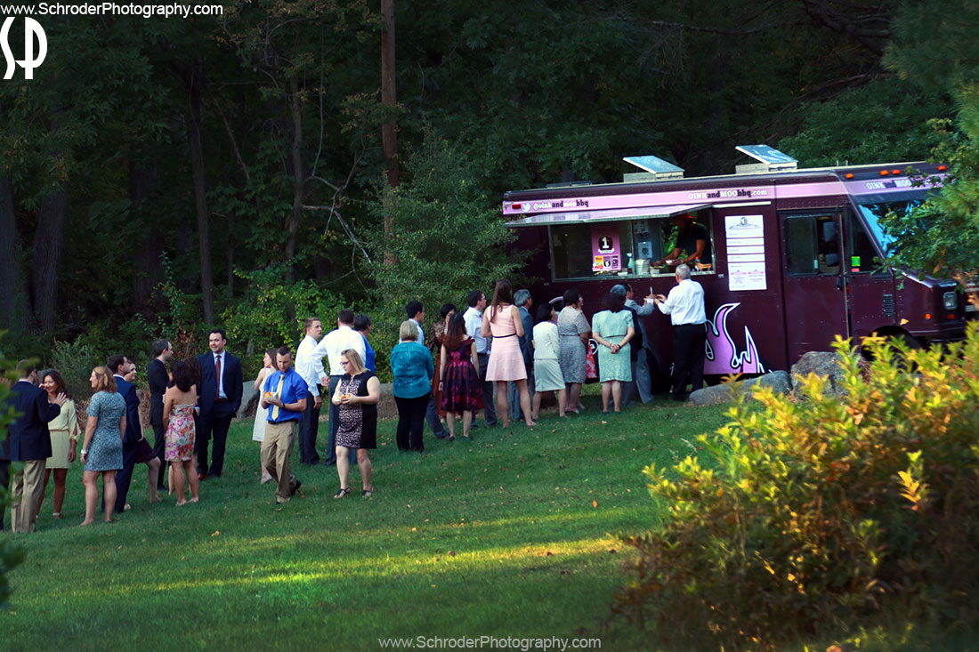 Food Truck at the wedding in Princeton