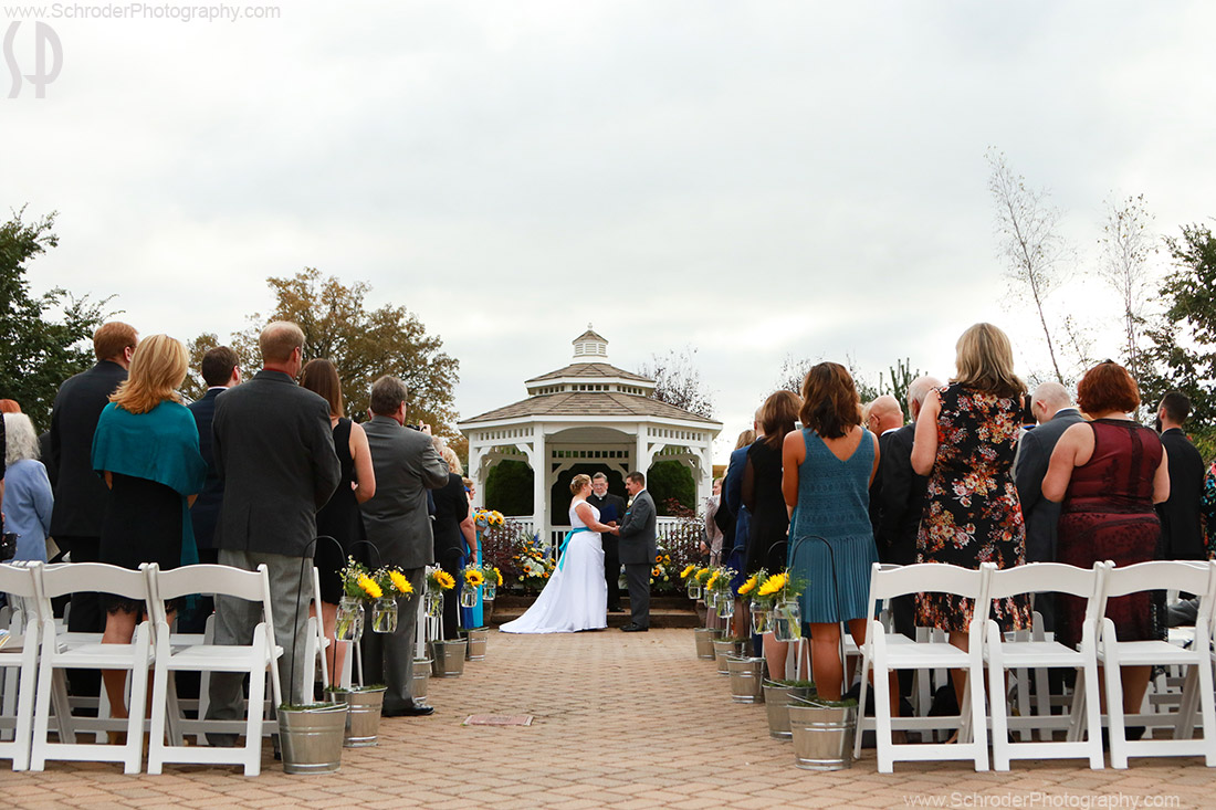 The Gazebo was also the chosen spot for the ceremony