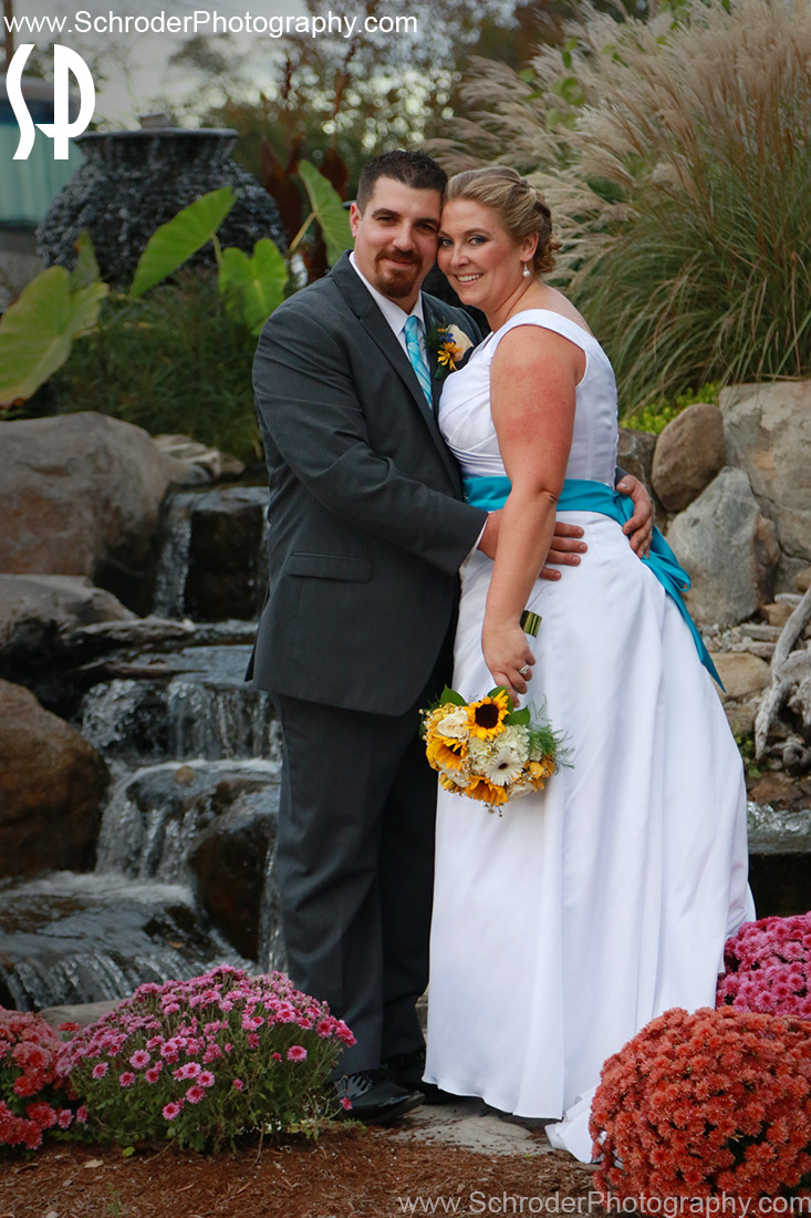 Tim and Sara in another pretty spot at the fairgrounds