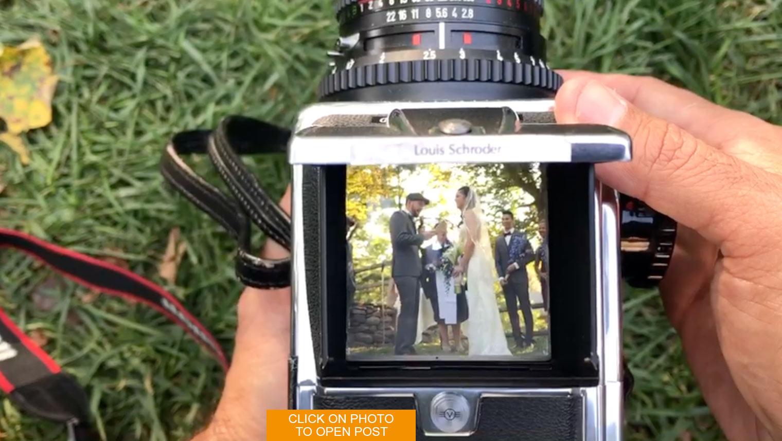 Behind The Camera at Weddings