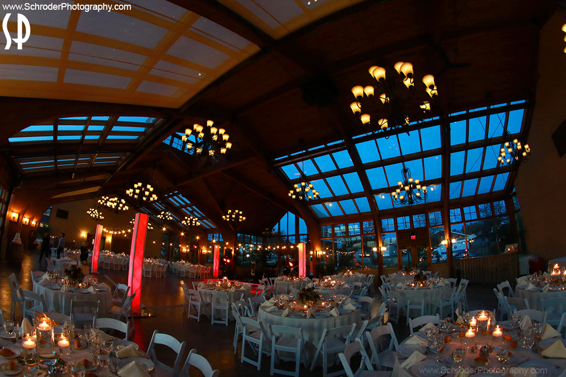 The Conservatory at Sussex County Fairgrounds is ready for the reception
