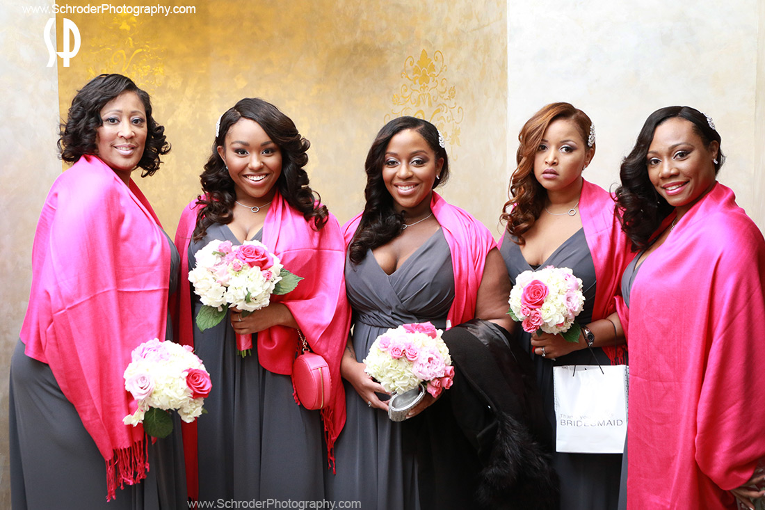 The Bridal Party ready to go