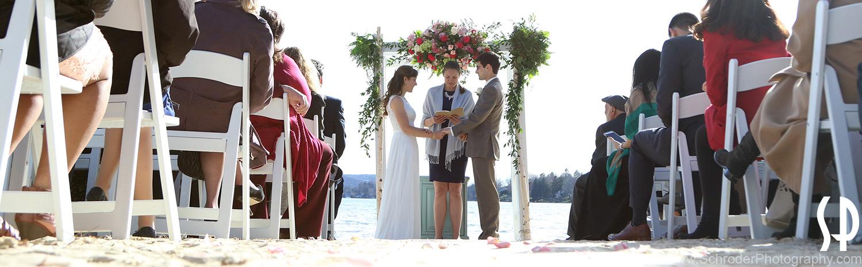 Wedding at Lake Mohawk