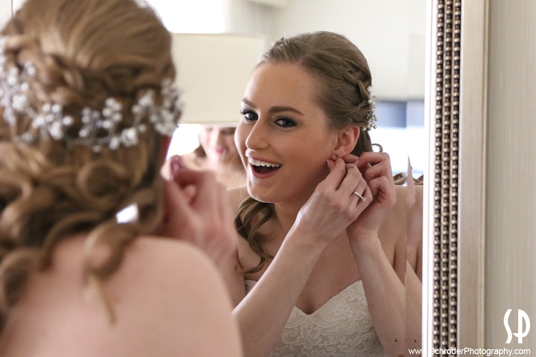 The Bride is almost ready