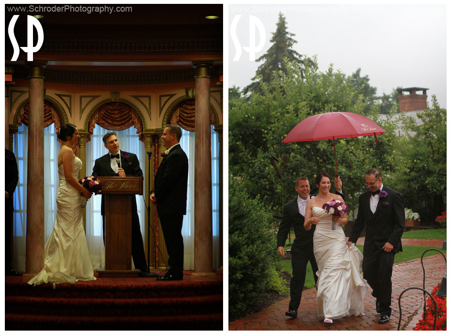 In case of bad weather the ceremony can be held indoors.