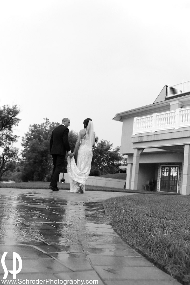 Rain and humidity moved the ceremony indoors, but we still managed to sneak in some photos outdoors