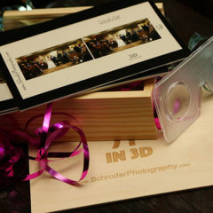 Add-on: Exclusive 3D wedding Stereographs!